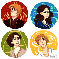 star wars - four elements by shorelle