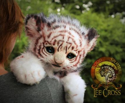 Sold, Poseable Baby Tiger! by Wood-Splitter-Lee