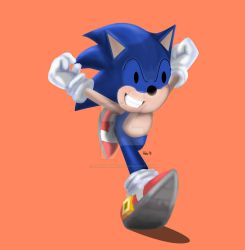 SONIC TOONED UP SPEED DRAWING +VID by IDROIDMONKEY