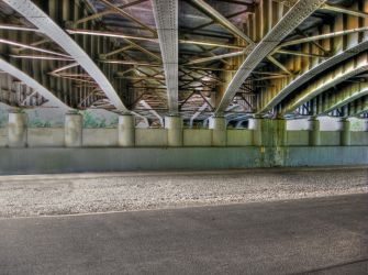 Thruway Overpass Liverpool, NY by Lectrichead