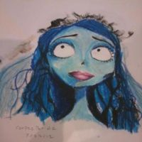Corpse Bride pastel by 6maryjane