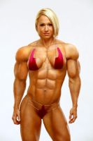 Female muscle 8 by BigDane