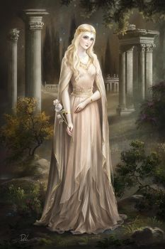 The white rose by Develv