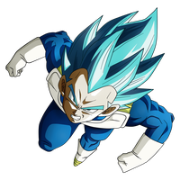 Vegeta SSJ Blue- Universe Survival by Koku78