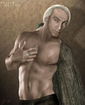 Lucius Malfoy by SimonPovey
