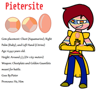 Gemsona #3 Pietersite by TheUltimateMagikarp