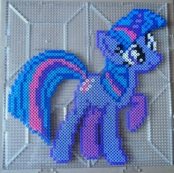 Twilight Sparkle Perler by The-Original-Kopii