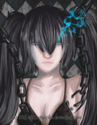 Black Rock Shooter's Legacy by Kayleey