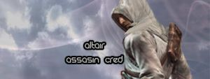 Altair Assasin Cred Signature by Marijo-4ever