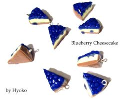 Blueberry Cheesecake Charms by Hyo-pon