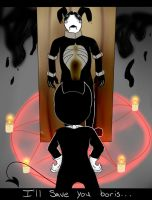 I'll Save You Boris... (Bendy ATIM Fanart) by 1warriorcats