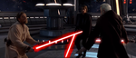 Obi Wan Kenobi And Anakin Skywalker Vs Count Dooku by Darth19