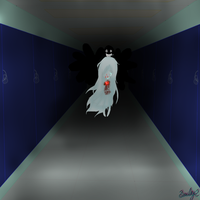 Ghost In The School by DrawinWithoutReason