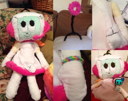 GIANT Hand-Sewn Alt plushie [Pop'n Music] by the01angel