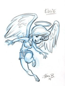 Ellie the angel v.1 by tombancroft