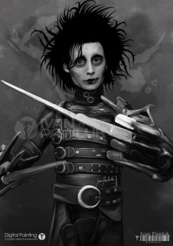 The Edward Scissorhands fuck you! by ipawluk