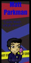Heroes Bookmarks - Matt by BeCeejed