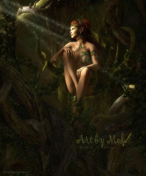 The Dryad Queen by Art-By-Mel-DA