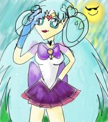 Sailor Crystal Posing for the Cam!! by SailorMoon3856