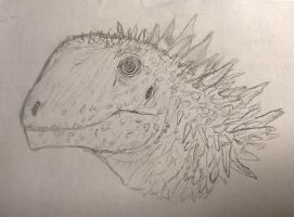 Doodle Prickly Macronarian by CMIPalaeo
