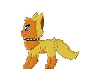 Sisie/Poochy (me as a poochyena) by lpspoochyena12