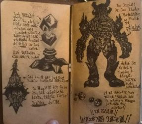 Turrets, Effigies, and Dust Mites! (Diary 19) by Dr4wner