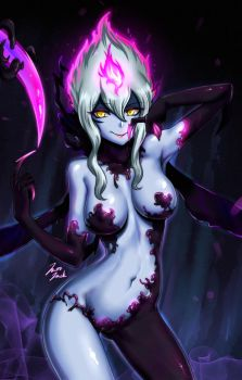 Evelynn New Splash fan art by jazzjack-KHT