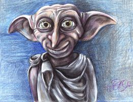 Dobby the House Elf by MissCosettePontmercy
