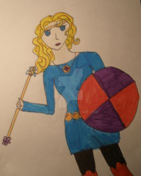 Krinna-super hero. by Cindyfred