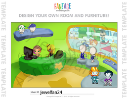 Fantage Fan Art Contest shop thingy. by Fario-P