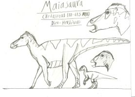 PA Maiasaura by TeamArtists