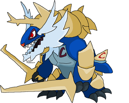 Warlord-Samurott V2 (Truth and Ideals) by Chronicle-King