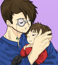 The Kurobas: Father and Son by 3DPhantom