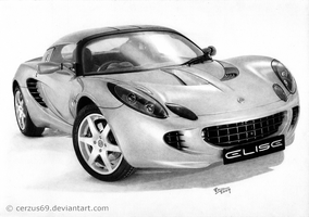 Lotus Elise by Cerzus69