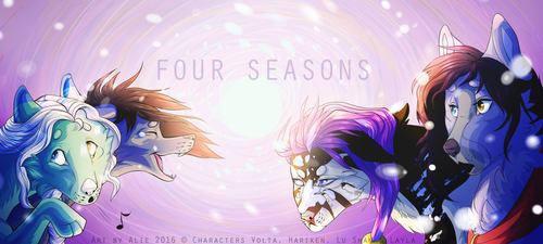 Header Four-Seasons - Hiver 2016 by camomille1777