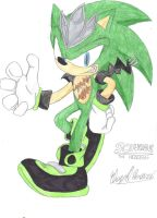 Scourge the Headgehog by Heroton2008