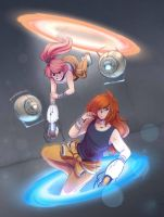 Collab: Portal Co-op by ITBluebeadTI