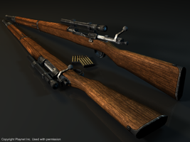 M1903 Springfield Sniper Rifle by Volcol