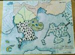 Tabber the Red world map by CopperSphinx