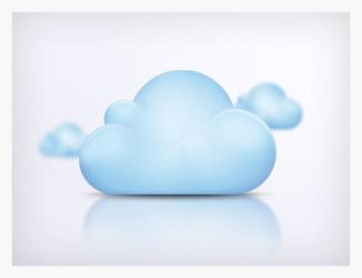 Have a cloud - PSD Freebie by Affect-The-World
