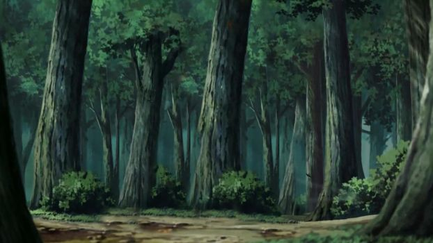 Bosque Naruto by lwisf3rxd