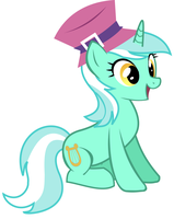 Lyra always dresses in style by DawnMistPony