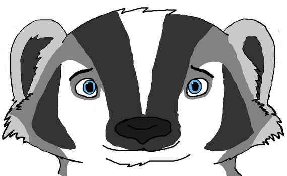 Nelson Remake (Nelson Badger)(Headshot)(WIP) by BaxterKangaroo