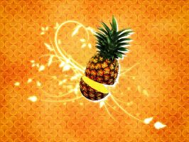 Pineapple by 2-0-1-9