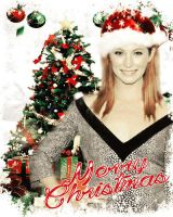 Candice Accola Christmas Manip by yotoots