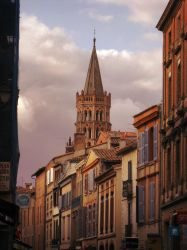 Street of Toulouse, France by hipe-0