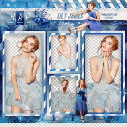 Pack Png Lily James 01 by neveroutofstyle
