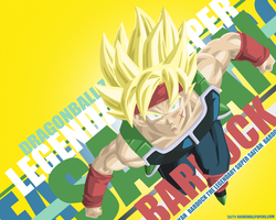 Bardock Legendary Super Saiyan Wallpaper by TattyDesigns