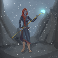 Mage of Winterhold by LaFuriosa