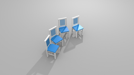 4 chairs by messtwice